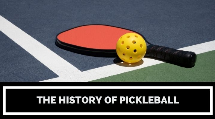 the history of pickleball blog post image