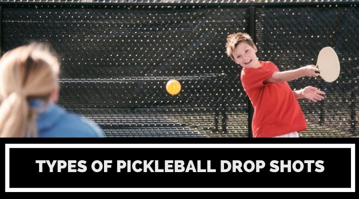 types of pickleball drop shots blog post image
